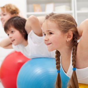 Pilates under kids activities in Dubai